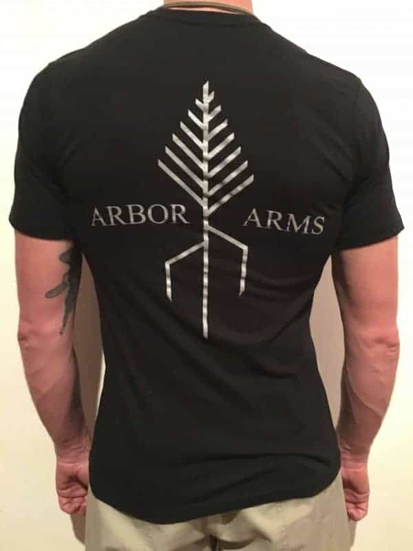ARBOR ARMS ATHLETIC CUT T-SHIRT 2