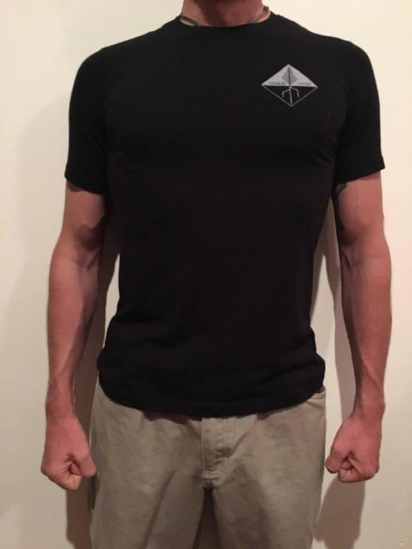 ARBOR ARMS ATHLETIC CUT T-SHIRT 3