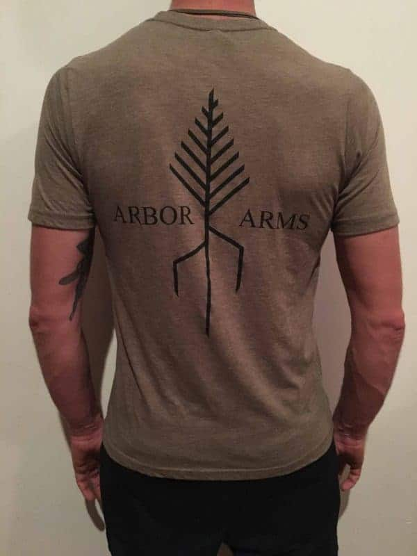 ARBOR ARMS ATHLETIC CUT T-SHIRT 5