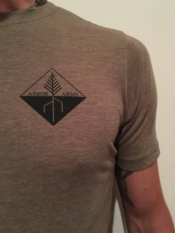 ARBOR ARMS ATHLETIC CUT T-SHIRT 7
