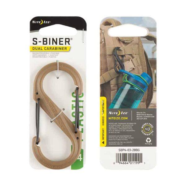 S-BINER® PLASTIC DUAL CARABINER #4 1