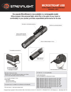 MICROSTREAM® USB POCKET LIGHT 9
