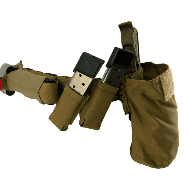 Magnet Assisted Retention System M.A.R.S. Angled Pistol Pouch 1