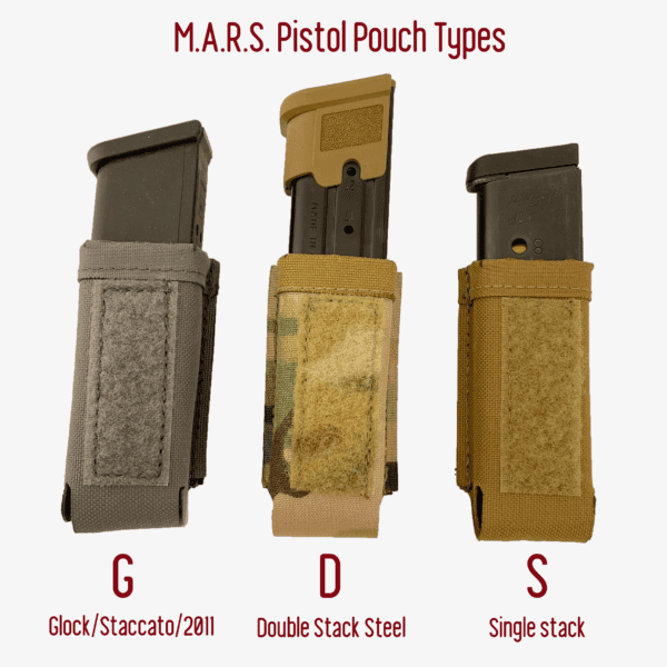 Magnet Assisted Retention System M.A.R.S. Angled Pistol Pouch 5
