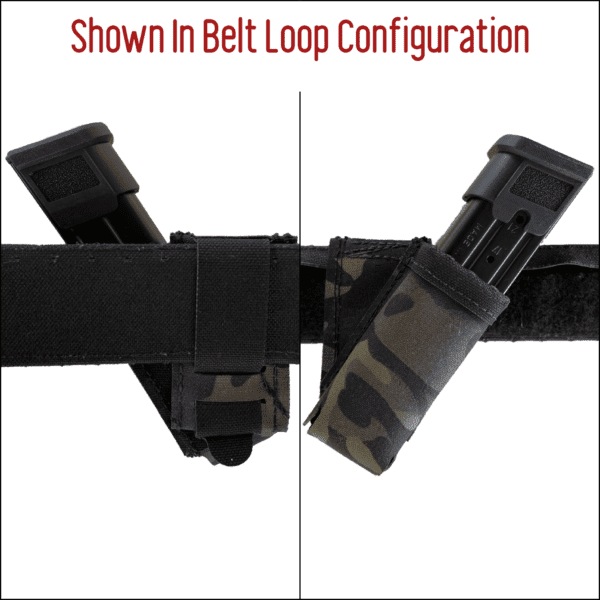Magnet Assisted Retention System M.A.R.S. Angled Pistol Pouch 4