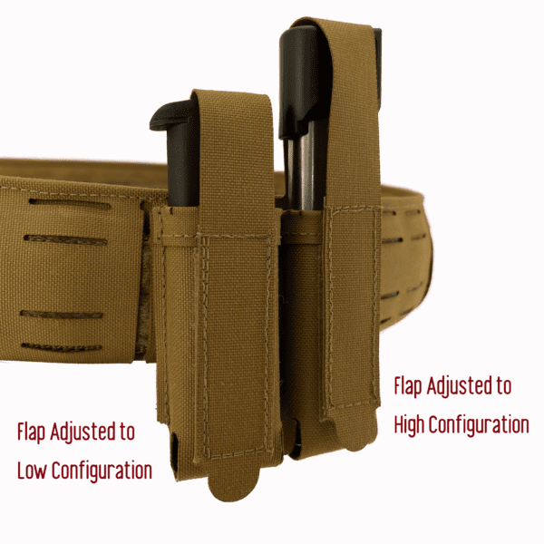 Magnet Assisted Retention System M.A.R.S. Vertical Pistol Pouch 5