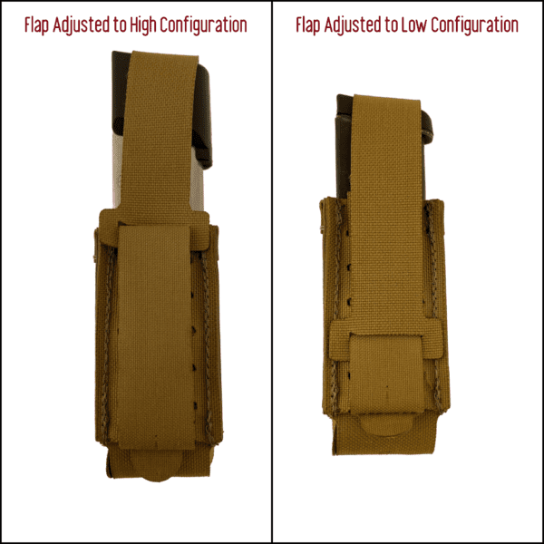 Magnet Assisted Retention System M.A.R.S. Vertical Pistol Pouch 6